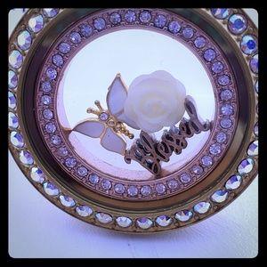 Beautiful Gold and Swarovski crystals